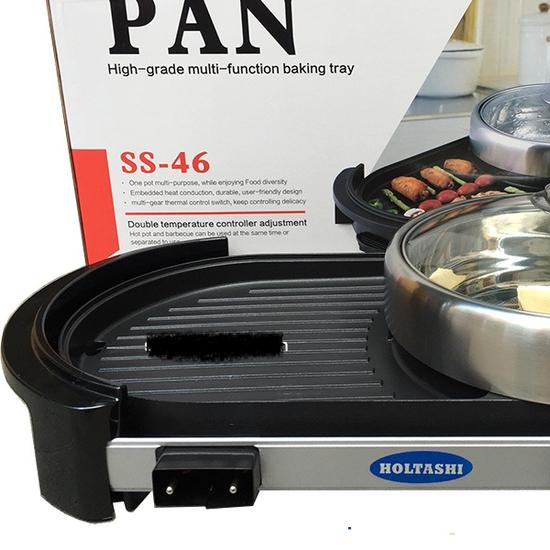 Bếp lẩu + nướng Pan tiện ích 2 trong 1