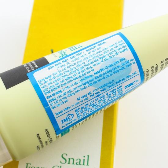 Sữa rửa mặt Benew Hàn Quốc - Nguồn gốc thiên nhiên