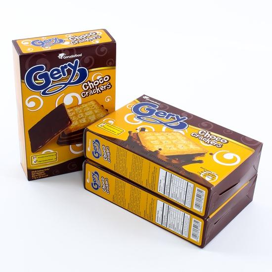 3 hộp bánh quy Gery phủ socola giòn tan thơm ngậy