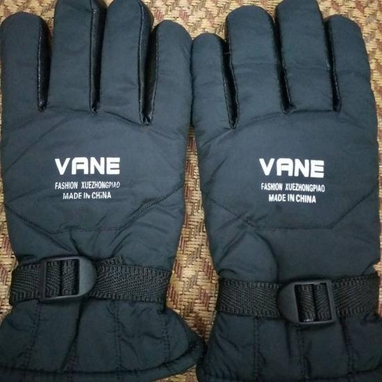 Găng tay phao lót lông nam ấm áp cho mùa đông