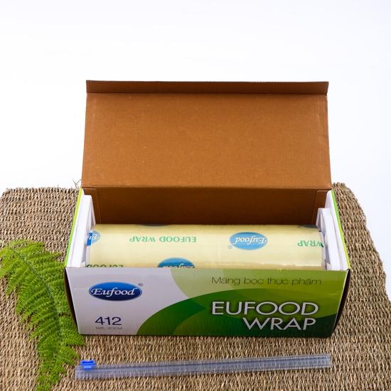 Màng bọc thực phẩm Eufood PVC 412 (250m x 30cm)
