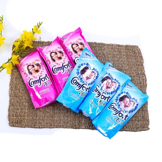 Combo 6 túi nước xả vải Comfort Thái Lan 600ml