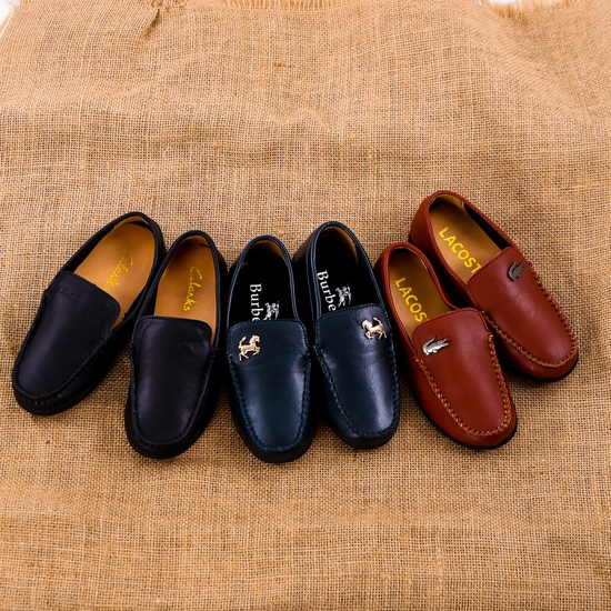 Chọn 1 trong 3 mẫu giày lười da bé trai size 28-32