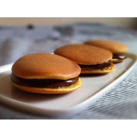 Bánh rán đậu đỏ Đô rê mon Shimizu (3 bánh) 65g