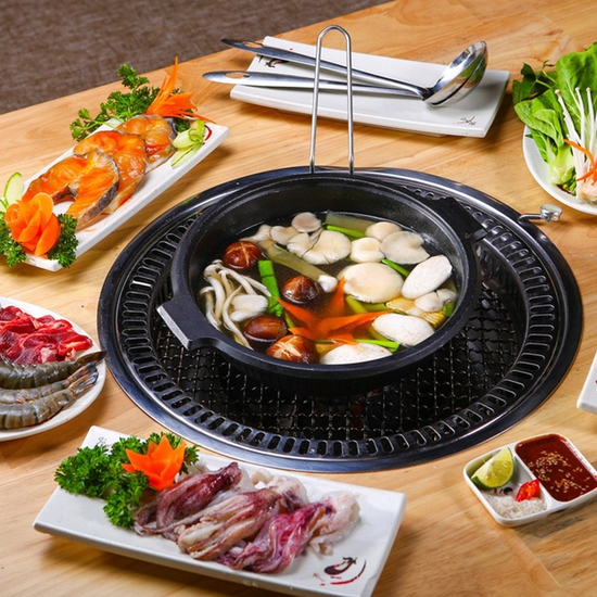 Buffet lẩu nướng Gri & Gri Royal City - Menu VIP