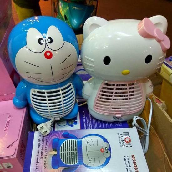 Đèn bắt muỗi Magic Home hình Doremon/Kitty