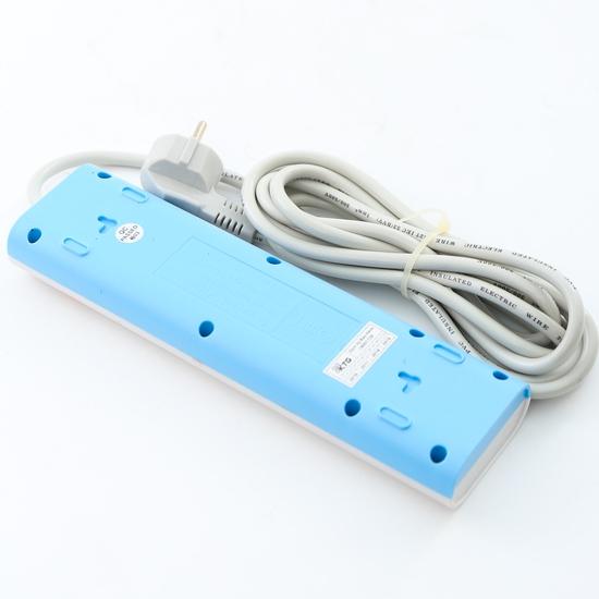 Ổ cắm nối dài Comet CES5303 3 chấu, 2 cổng USB
