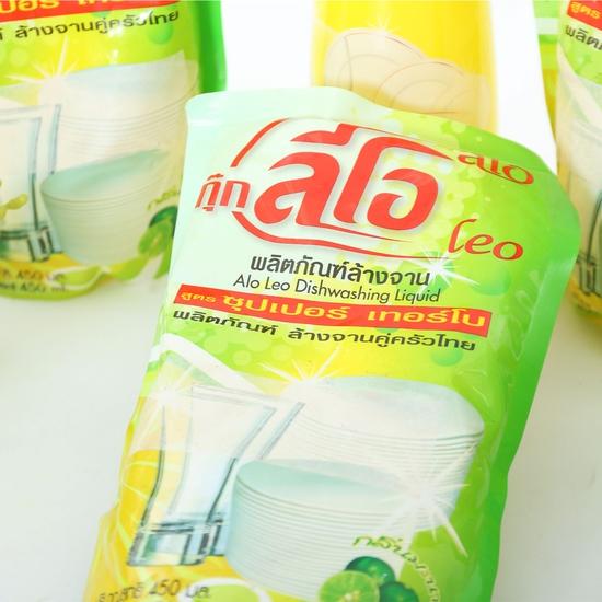 Combo 5 túi + 1 chai nước rửa chén ALo Thái Lan