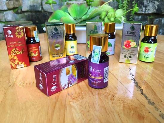 Tinh dầu xông hương Quế/Oải hương/Sả/Bưởi/Bạc hà 15ml