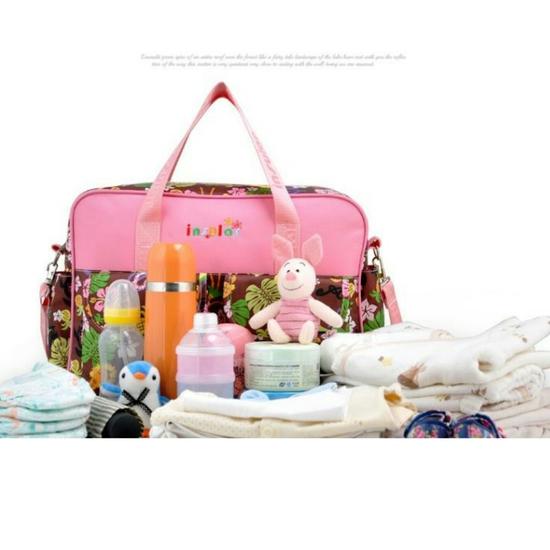 Túi xách họa tiết đa năng nhiều ngăn tiện dụng