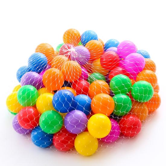 Túi 100 quả bóng nhựa size nhỏ sắc màu