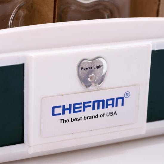 Máy làm sữa chua Chefman 12 cốc thủy tinh BH 2 năm
