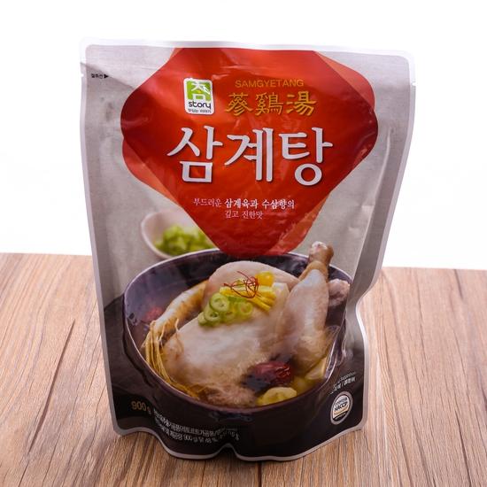 Gà tần sâm bổ dưỡng nhập khẩu Hàn Quốc (gói 900g)