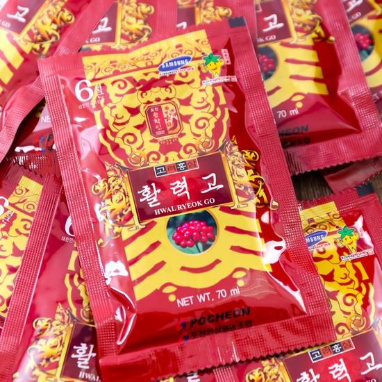 Nước hồng sâm Hwal Ryeok Go Hàn Quốc 30 gói