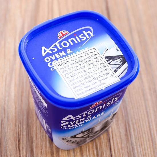 Kem tẩy rửa dụng cụ nhà bếp Astonish 500g NK Anh