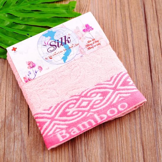 Combo 5 khăn mặt Silk - 100% sợi tre thiên nhiên