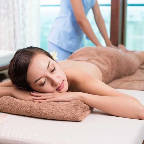 Xông hơi đá muối đẳng cấp kèm massage body 90' Spa Thảo