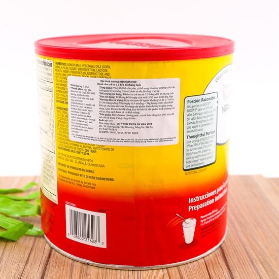 Sữa bột Nestle Nido Kinder 2.2kg cho trẻ > 1 tuổi