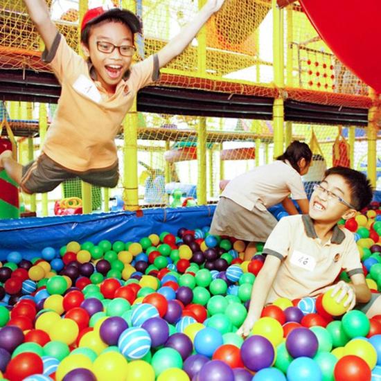 Vé vui chơi thỏa thích cho bé tại Kinder Park