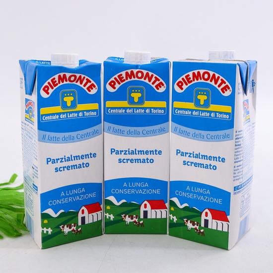 Combo 06 hộp sữa tươi ít béo PIEMONTE 1L - NK Ý