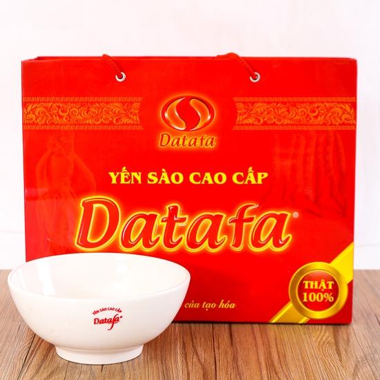 Hộp 6 lọ Yến sào Datafa cao cấp - Tặng bát tô/ cốc