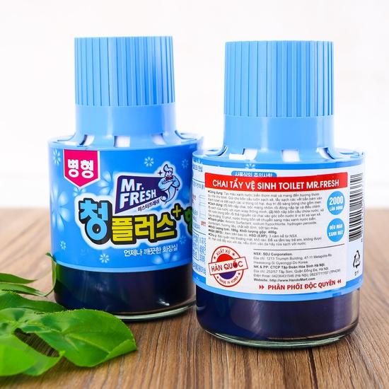 2 ống thả bồn cầu diệt khuẩn, thơm mát Hàn Quốc