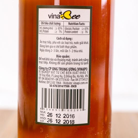 Mật ong thiên nhiên 900g & mật ong sữa chúa 1000g