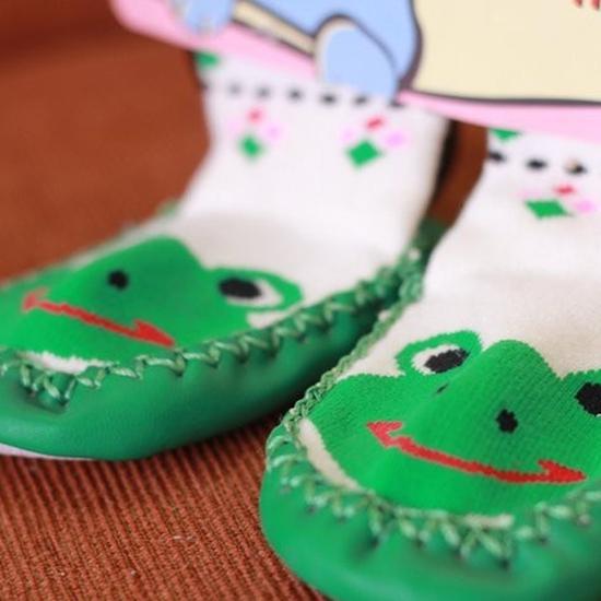 3 đôi tất liền giày tập đi tiện dụng cho bé