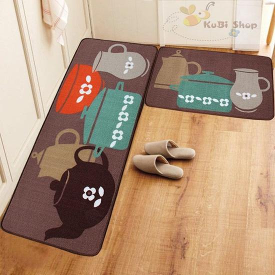 Bộ thảm lau chân nhà bếp