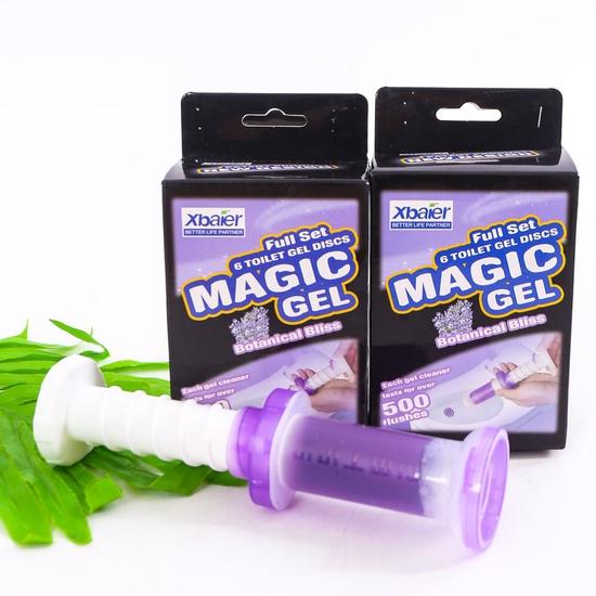 Combo 2 hộp Gel thơm tẩy bồn cầu Magic Gel
