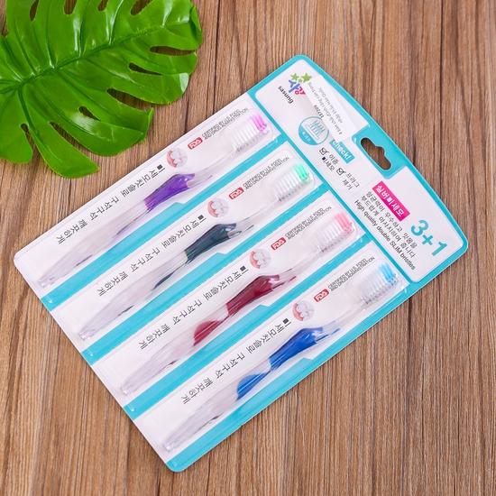 4 bàn chải đánh răng cán trong nhập khẩu Hàn Quốc