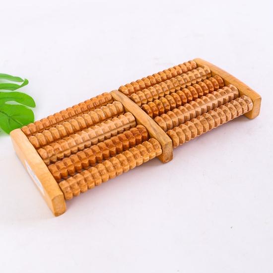 Dụng cụ massage chân di động bằng gỗ loại 5 thanh