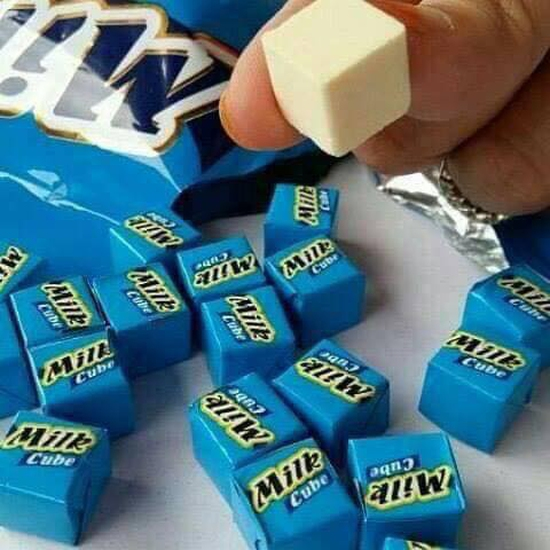 Kẹo sữa dạng viên Milk Cube 50 viên
