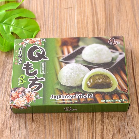 3 hộp bánh Mochi vị trà xanh, đậu đỏ và khoai môn