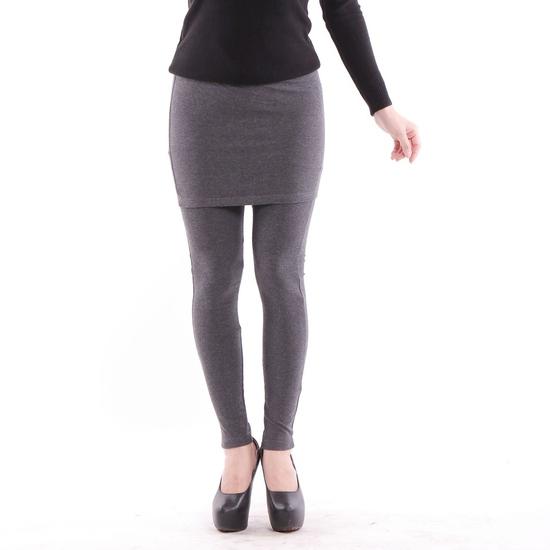 Quần legging giả váy trẻ trung 100% cotton