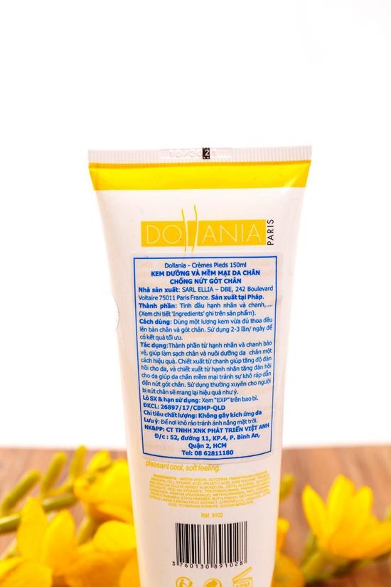 Kem dưỡng da chân, chống nứt gót NK Pháp 150ml