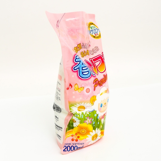 Nước xả vải Papai Màu hồng 2L