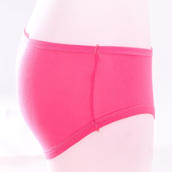 10 quần lót nữ cotton trơn, cạp cao nhiều màu