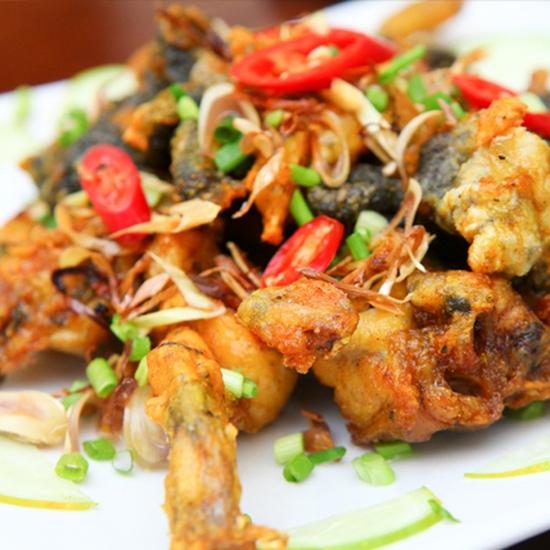 Lẩu ếch măng cay+ 4 món ăn kèm đầy đặn cho 4 người