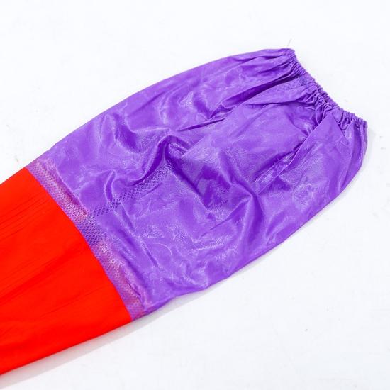 2 đôi găng tay cao su lót nỉ loại dài có chun