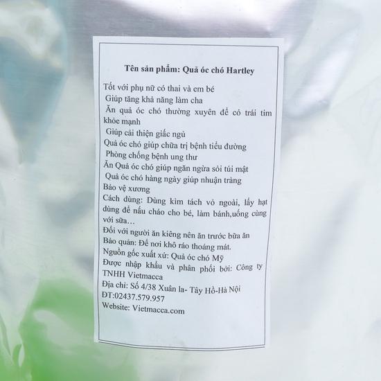 Gói 500gr hạt óc chó Mỹ Hartley tốt cho sức khỏe