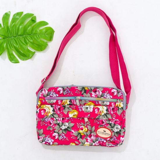 Túi hoa đeo chéo nhiều màu xinh xắn cho bạn gái
