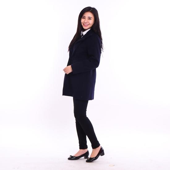 """Áo khoác dạ dáng dài ấm áp """"style"""" Hàn cho bạn gái"""