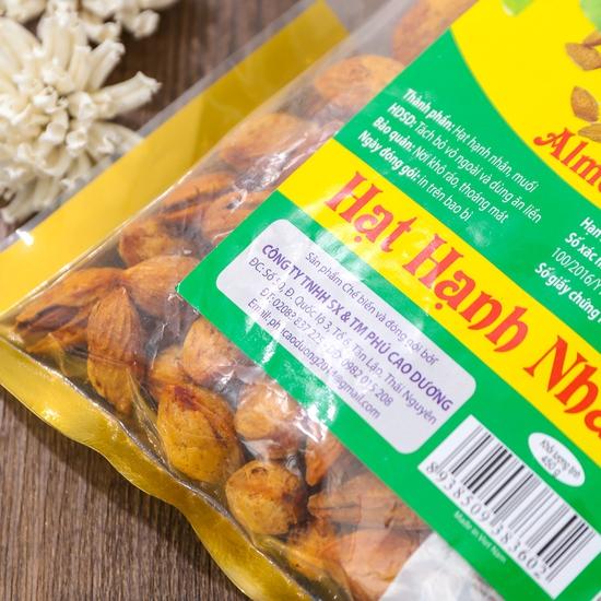 Gói 450g hạt hạnh nhân thơm, bùi Thảo Nguyên