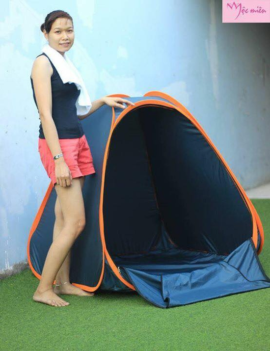 Lều xông hơi tự bung Mộc Miên