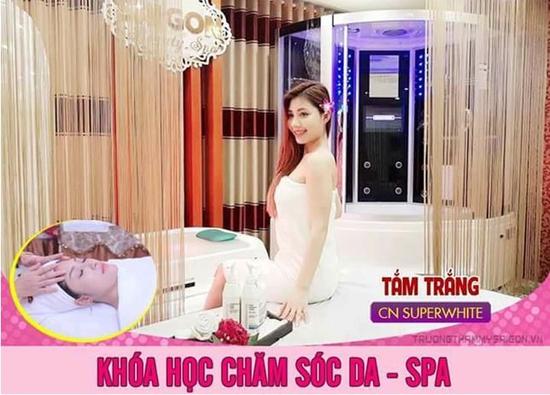 Học nghề thẩm mỹ cực HOT - Nghề vàng cho giới trẻ Sài Gòn Beauty & Spa