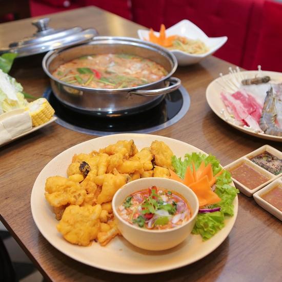 Set lẩu Thái chua cay tại NH Bangkok Thai Cuisine