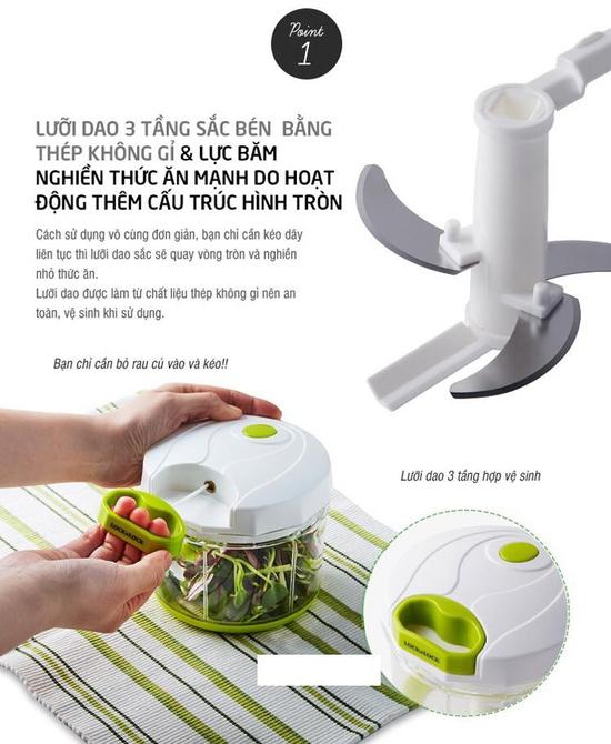 Xay tay thực phẩm loại lớn Lock&Lock CKS303
