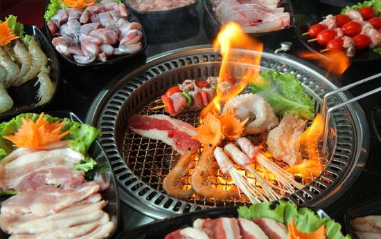 Buffet Lẩu Nướng Không Giới Hạn Nhà Hàng Nướng BBQ