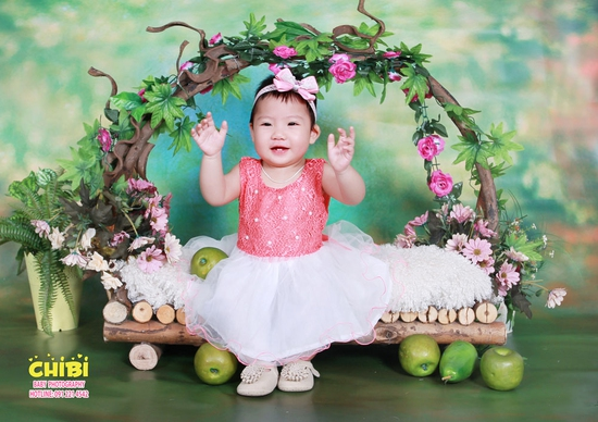 Lưu giữ khoảnh khắc ấu thơ của bé với Chibi Studio